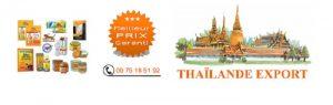 Thaïlande export - Médecine chinoise